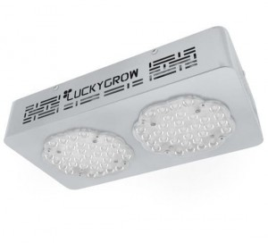 Luckygrow lampa LED Dual 120°  220W/110W