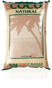 Canna Coco Natural 50L - Substrat kokosowy